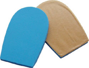 Poron 4708 Heel Cushions With Adhesive Backing - 6mm - 5/64""